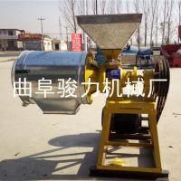 供应 磨小麦杂粮不锈钢面粉机 出麸皮磨面机 骏力牌 锥形磨面机