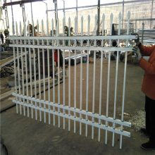 铁艺围栏厂家 工厂围墙护栏厂家 护栏围墙大门