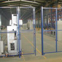 朋英厂家销售车间护栏网浸塑低碳钢丝车间护栏网
