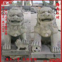 惠安九龙星 现货石雕狮子汉白玉石狮子 青石仿天安门狮子 镇宅雕塑