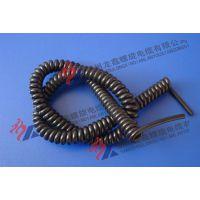 PU、PUR定制耐压(交流电压450/750V直流电压6V-1KV)螺旋电缆