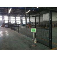 仓库隔离栅 车间网表面喷塑处理 安全网