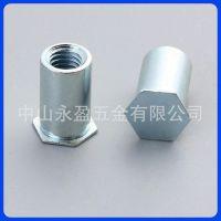 中山佛山BSO-M5M6盲孔压铆螺柱内螺纹铆钉/压铆螺母柱/压铆件厂