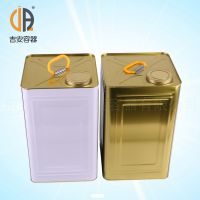 20L马口铁铁桶 20kg机油嘴铁桶 水性涂漆桶 厂家直销
