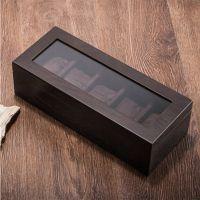 木质天窗手表盒五格位木制礼品盒 dw手表盒 watch box