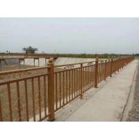周口仿木纹道路护栏,组装围墙栅栏,HC周口喷塑道路护栏,锌钢河道围栏,网片围栏Q235