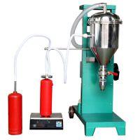 干粉灭火器充装生产线价格,灭火器氮气灌装机