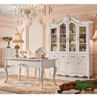 普洛瑞斯欧式风格实木定制书柜