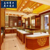 高档定制商场珠宝展示柜 橱窗制作安装设计 珠宝店展柜橱窗设计