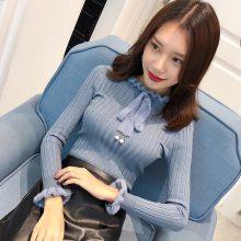 供应时尚潮流韩版女式毛衣 江西南昌学生爆款女式开衫毛衣低至5元批发