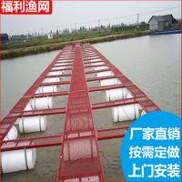 厂家热销加盖防逃捕鱼网箱 河流网箱设计 防锈性网箱 按需定做