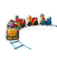 户外有轨托马斯小火车 游乐场游乐设备无轨道托马斯观光小火车