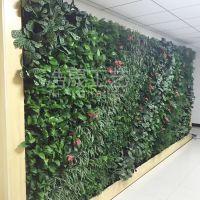 假植物墙的做法?仿真植物壁挂吊篮花艺仿真植物藤条假植物墙绿植墙面绿化装饰垂吊