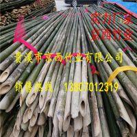 全国低价批发供应竹杆子 农用竹杆搭架竹杆篱笆竹杆 厂家供货