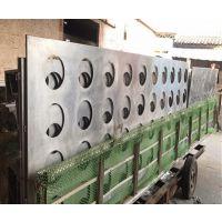 广州占优势大的广汽新能源4S店外墙银灰色冲孔铝单板厂家?