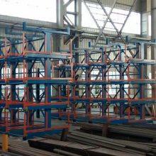 存放管材最有效的方法 首创产品伸缩悬臂式货架设计参数 郑州生产厂家