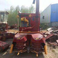 履带式青储机 自走式玉米粉碎青储收获机
