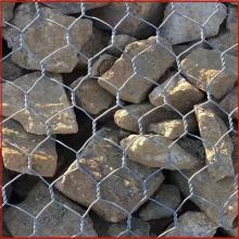 六角网加工 包塑六角网 堤坡防护石笼网厂家