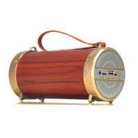 XM1复古木质圆筒蓝牙音箱便携手提旅游音响多功能大音量外贸爆款中性