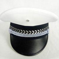 厂家定制各种保安帽铁路物业白色帽特行帽子演出制服道具帽