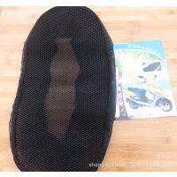 夏季电动车防晒坐垫 踏板摩托车隔热透气3D蜂窝晒不热弹性座套