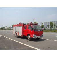 今日又有5台国五江铃2吨水罐消防车发往广东