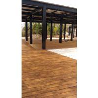 河边地板||量尺定制地板||大连防腐木地板||庭院地板块||