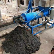 有机肥加工处理机器 润丰 干湿分离机使用效果