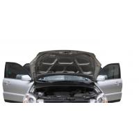 汽车引擎盖标签,耐高温,规格定制