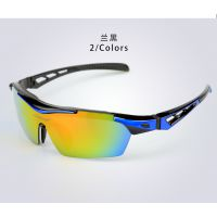 户外运动眼镜 防风沙防雾眼镜 偏光太阳眼镜 可换片骑行眼镜套装
