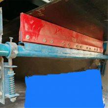 天德立P型聚氨酯清扫器 皮带机自调二道清扫 粘料杂物清理器