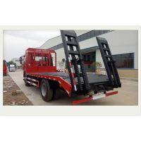 东风DFZ5180TPBSZ5D型1.8L平板运输车 单桥挖机平板拖车