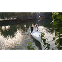 【冯氏木船】厂家供应广东旅游景区威尼斯贡多拉装饰道具船欧式贡多拉手划船