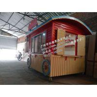 菏泽市个性专用花车售卖车 滨州市售货亭图片
