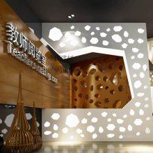 户外墙面雕花铝单板造型镂空幕墙门头装饰铝型材铝板专业定制加工