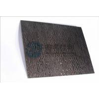 佛山鑫名佳利smc黑色木纹不锈钢建筑装饰板专家
