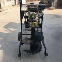 合金螺旋植保挖坑机 拖拉机带50公分直径打坑机价格