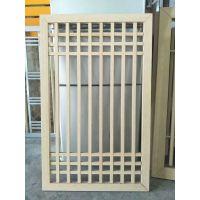 绍兴复古铝窗花 木纹铝窗花 专业定制 价格实惠