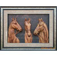 厂家直销 动物雕像 仿真马 仿真动物 创意工艺品
