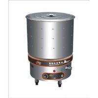 河池全自动电热汤粥炉 50*50不粘锅汤粥炉 煮粥炉 煲汤桶电热不粘底节能蒸汽煲汤粥桶 汤桶LED