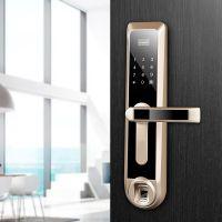 深圳诺克威智能锁厂家供应A80家居直板式智能门锁