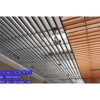 供应广西铝方通 U型铝方通吊顶 铝方通天花效果图