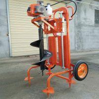 佳鑫手提式冻土打坑机 打桩机 锰钢合金钻坑机生产厂家