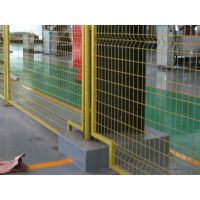 车间隔离护栏网、工厂厂区分离栅栏、批发市场摊位围栏网、仓库内部隔离网、润昂定制生产