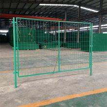 内蒙铁丝网围栏 绿色铁丝护栏网 高速护栏厂家