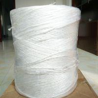 【供应】白色捆扎绳撕裂带塑料打包绳厂家批发尼龙绳草球扎口绳子