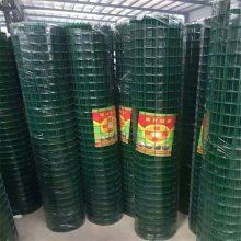 树苗防护铁丝网 果园防盗网 绿色涂塑荷兰网