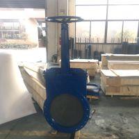 厂家直供铸钢手动薄型闸阀GZ41M-10C硬密封刀闸阀DN200