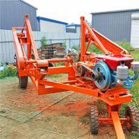 厂家直销背负式电缆拖车 全液压 野外线盘放线车JLK