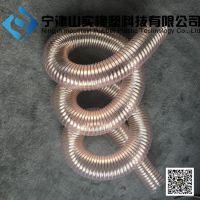 聚氨酯工业吸尘管 工业通风排气管吸尘管 PU橡胶伸缩管